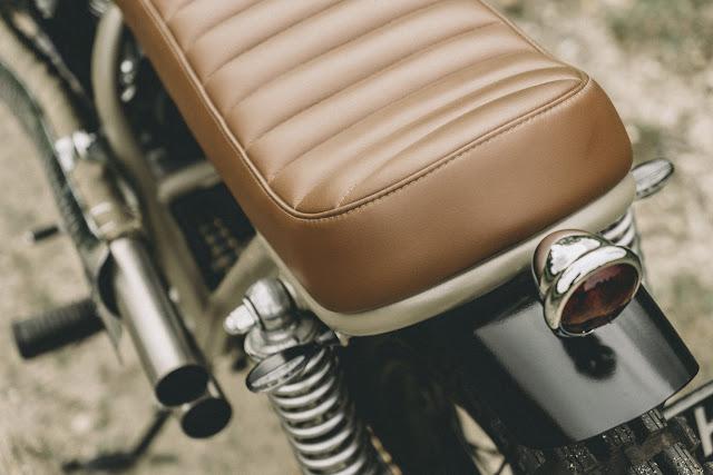 Honda CL360 1974 Inglorious Motorcycles Hell Kustom