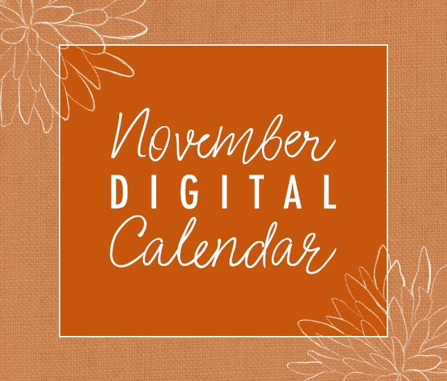 Blog - Marleylilly Blog HAPPY NOVEMBER   FREE DIGITAL CALENDAR