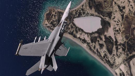 arma3用F/A-18 Super Hornet MOD
