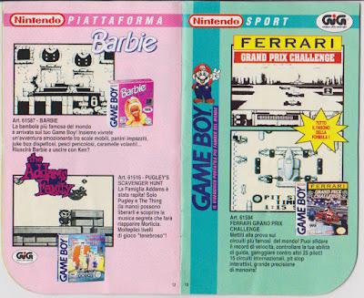 Nintendo game boy il catalogo 39 93 39 94 l 39 antro atomico for Catalogo grand prix