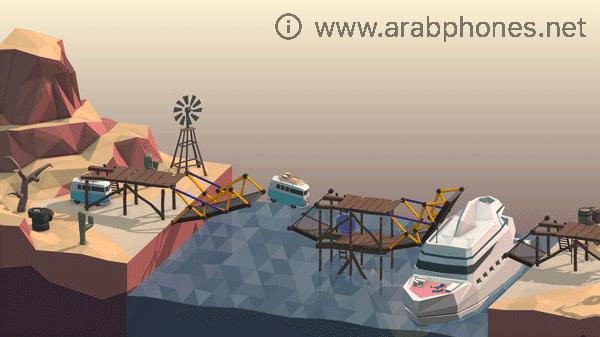 تحميل لعبة المهندس الفاشل Poly Bridge