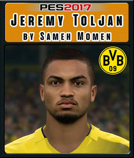 PES 2017 Faces Jeremy Tolijan by Sameh Momen