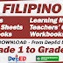 FILIPINO - Learning Materials from LRMDS (Free Download) Grade 1-6