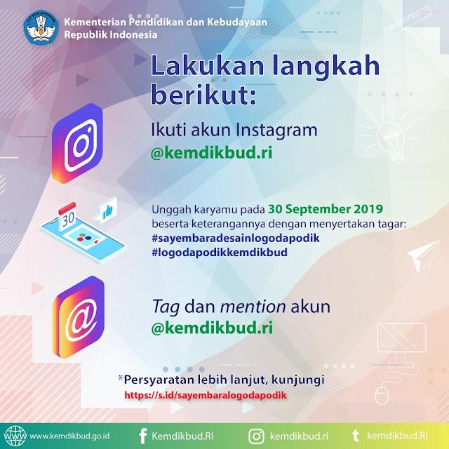 Syarat dan Ketentuannya Sayembara Desain Logo Dapodik Kemendikbud 2019