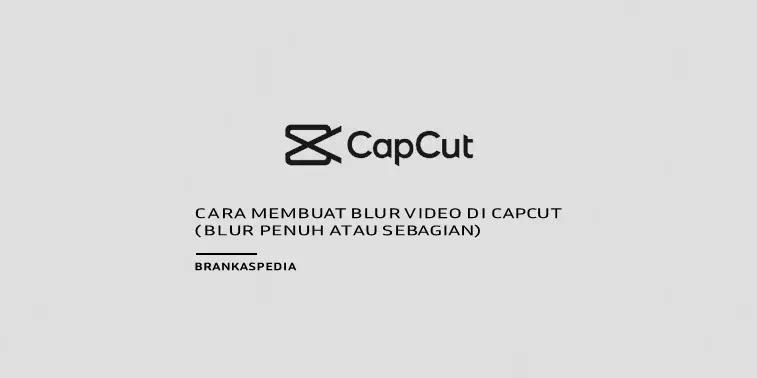 Cara Membuat Blur Video di CapCut ( Blur Penuh atau Sebagian)