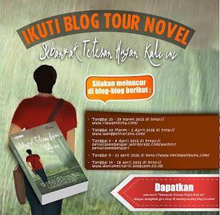 Blogtour + Giveaway Novel Sebanyak Tetesan Hujan Kali Ini
