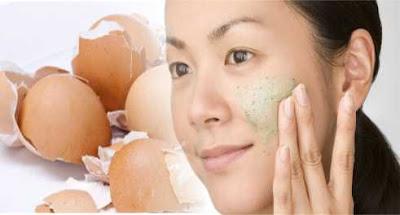 Cara Membuat Scrub Kecantikan Dari Kulit Telur
