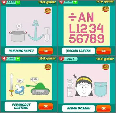 Jawaban tebak gambar level 12 nomor 5-8