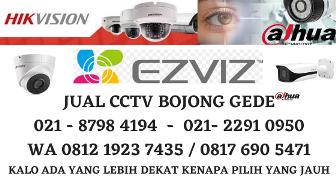 Pasang CCTV Bojong Gede