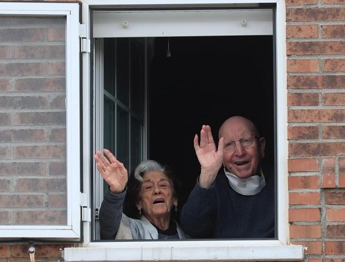 El matrimonio de 88 años que superó unido el virus