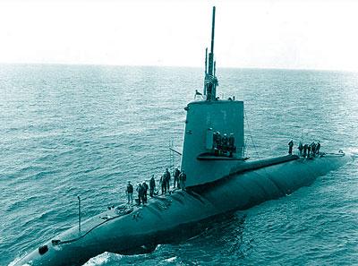 kapal selam nuklir Amerika