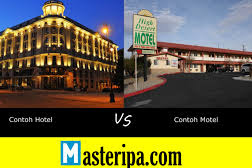Perbedaan Antara Hotel dan Motel (Lengkap)