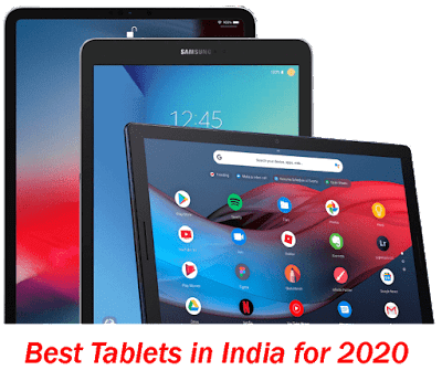 Top 5 Best Tablets in India for 2020