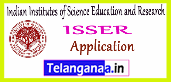 ISSER Indian Institutes of Science Education and Research Application 2017 Notification Admit Card