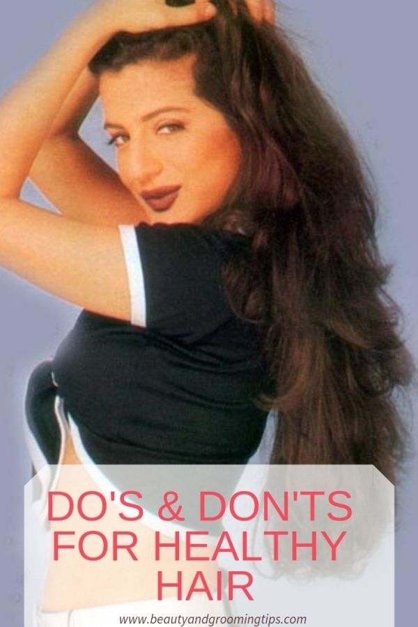 Amisha Patel with beautiful, healthy & long hair