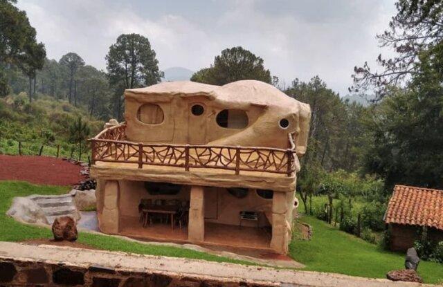 No es un dibujo animado, la casa de los Picapiedra existe y se puede alquilar