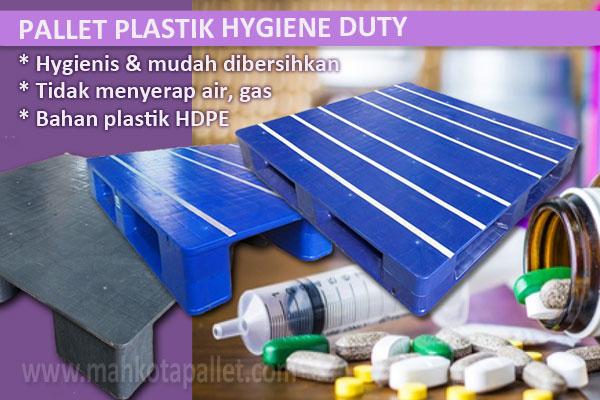 Pilihan Pallet Plastik Untuk Gudang Farmasi, Obat dan Kesehatan