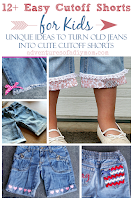 12+ ideas to turn jeans into shorts