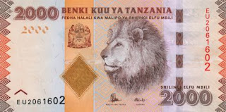 Tanzanian currency