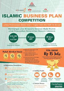 Lomba Menulis Makalah Bisnis Total Hadiah 15 Juta - Islamic Business Plan UISI