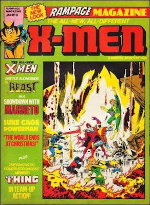 Rampage Monthly #31, the X-Men