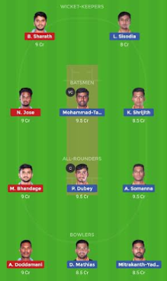 HT vs BB dream 11 team | BB vs HT