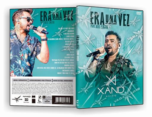 DVD-R XAND AVIOES AO VIVO 2018