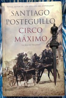 Portada del libro Circo Máximo, de Santiago Posteguillo