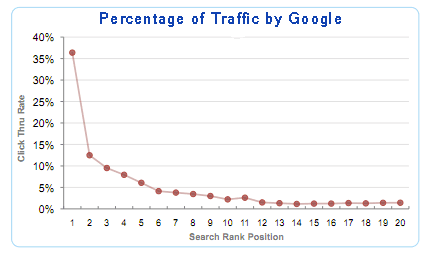 your-forst-google-ads-campaign,Percentage of traffice by google results