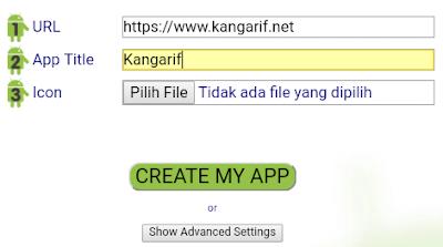 Cara Merubah Website Menjadi Aplikasi Android