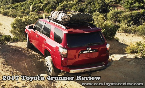 2017 Toyota 4runner Review - The Swiss Blade