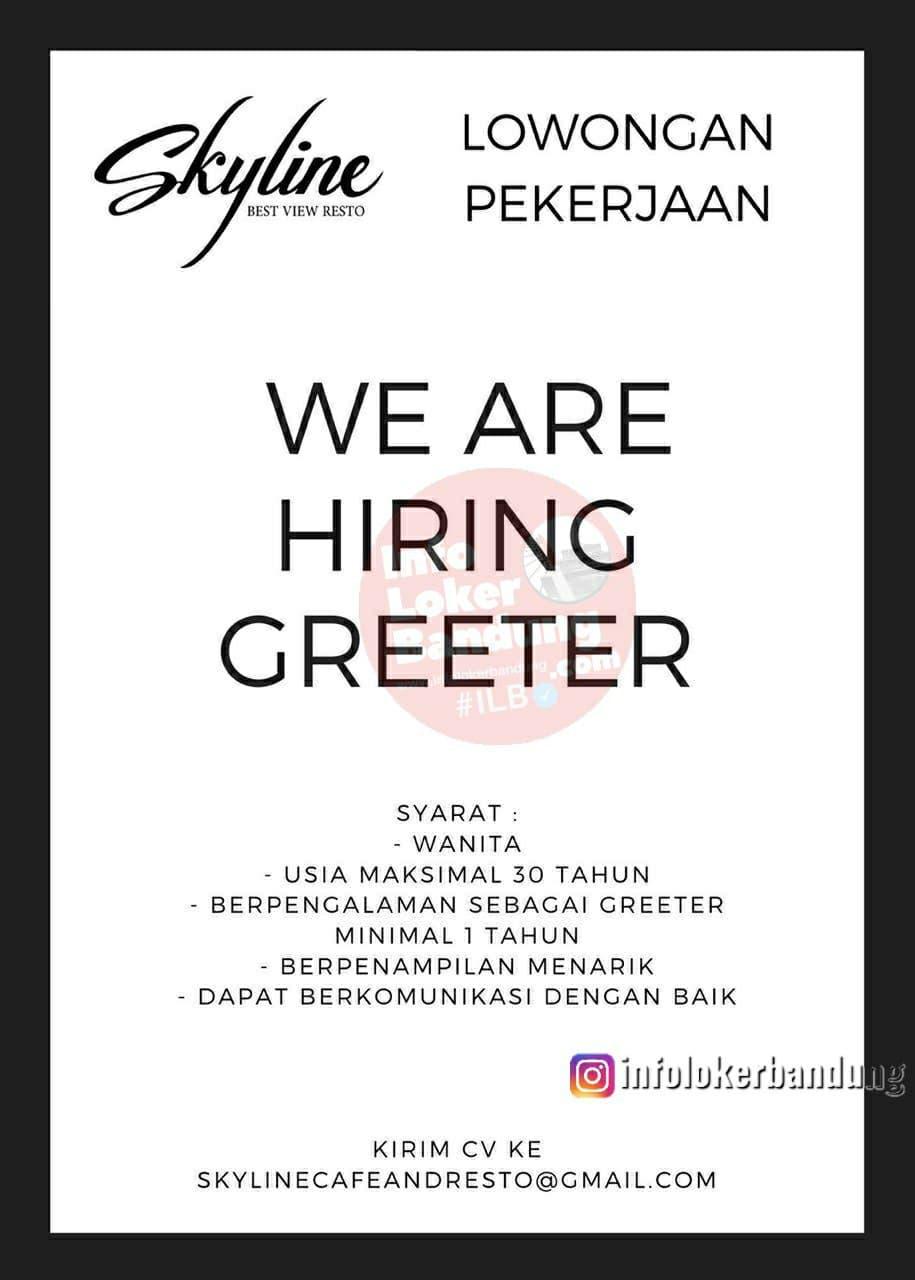 Lowongan Kerja Skyline Best View Resto Bandung Desember 2020