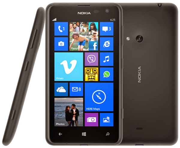 Hard Reset Nokia Lumia 625