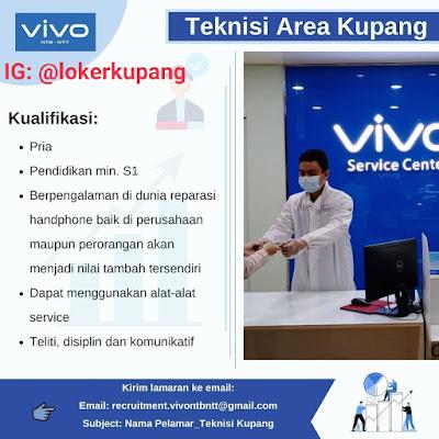 Lowongan Kerja VIVO Sebagai Teknisi Area Kupang