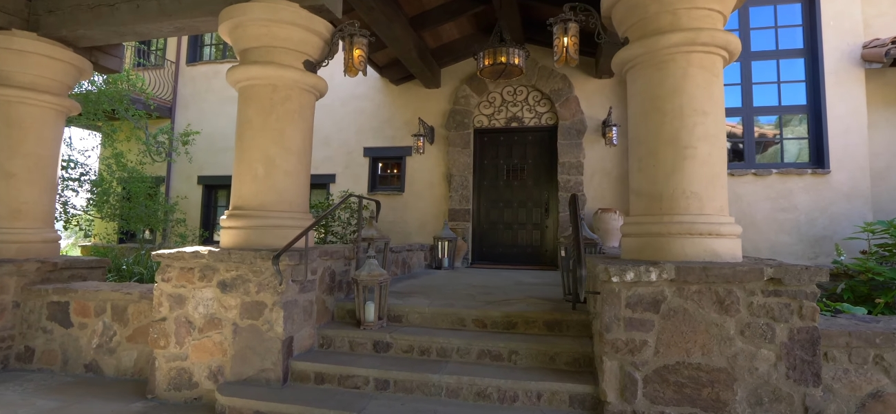 18 Photos vs. $25 Million Dollar California Home In Santa Ynez Interior Design Tour