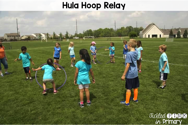 Here are some super-fun games for your class to play on field day. These activities are inexpensive and easy to throw together!