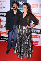 Red Carpet of Most Stylish Awards 2017 ~ Kabir Khan and Wife Mini Mathur (2).JPG