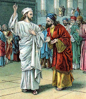 Jesus Confronts the Pharisees