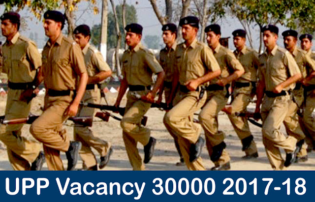 UP Police Recruitment 2017-18 Notification
