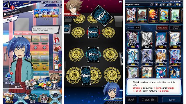 Kira-Kira Berapa Total Size Game Kartu Vanguard Zero Di Android?