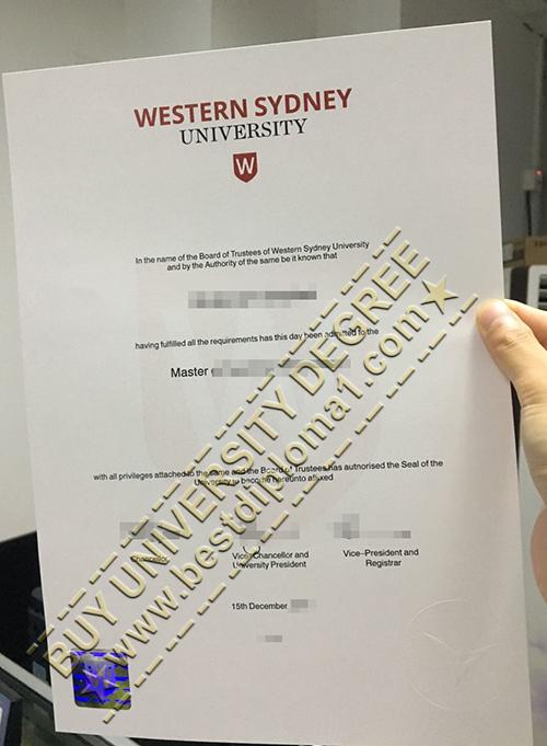 Fake western Sydney diploma