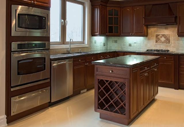 Interior Dapur minimalis sederhana modern - Desain Rumah Idaman