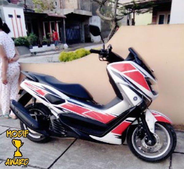 modifikasi motor yamaha nmax foto gambar19  terbaru