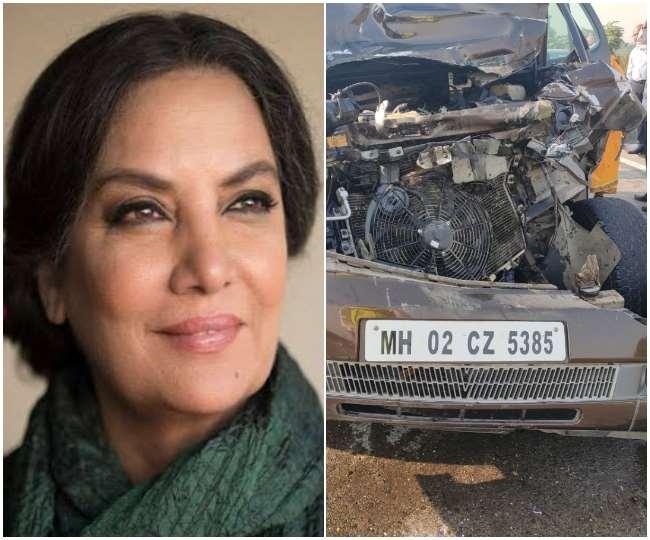 Shabana Azmi car accident
