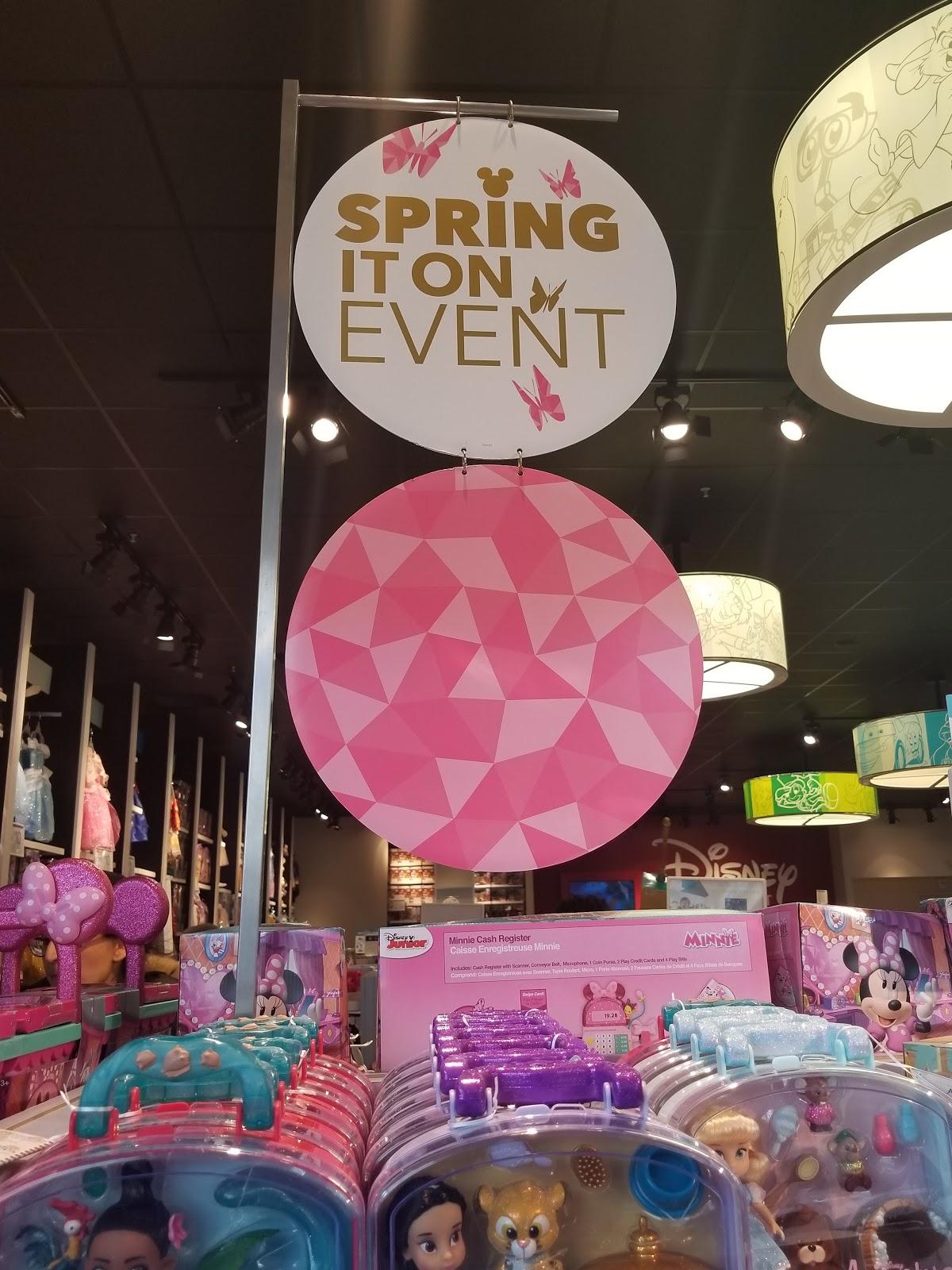 Spring Disney Store Visit