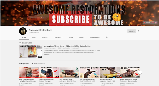 awesome restorations, restorations youtube channels,