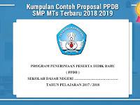 Kumpulan Contoh Proposal PPDB SMP MTs Terbaru 2018 2019