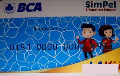 Kartu ATM BCA Simpel
