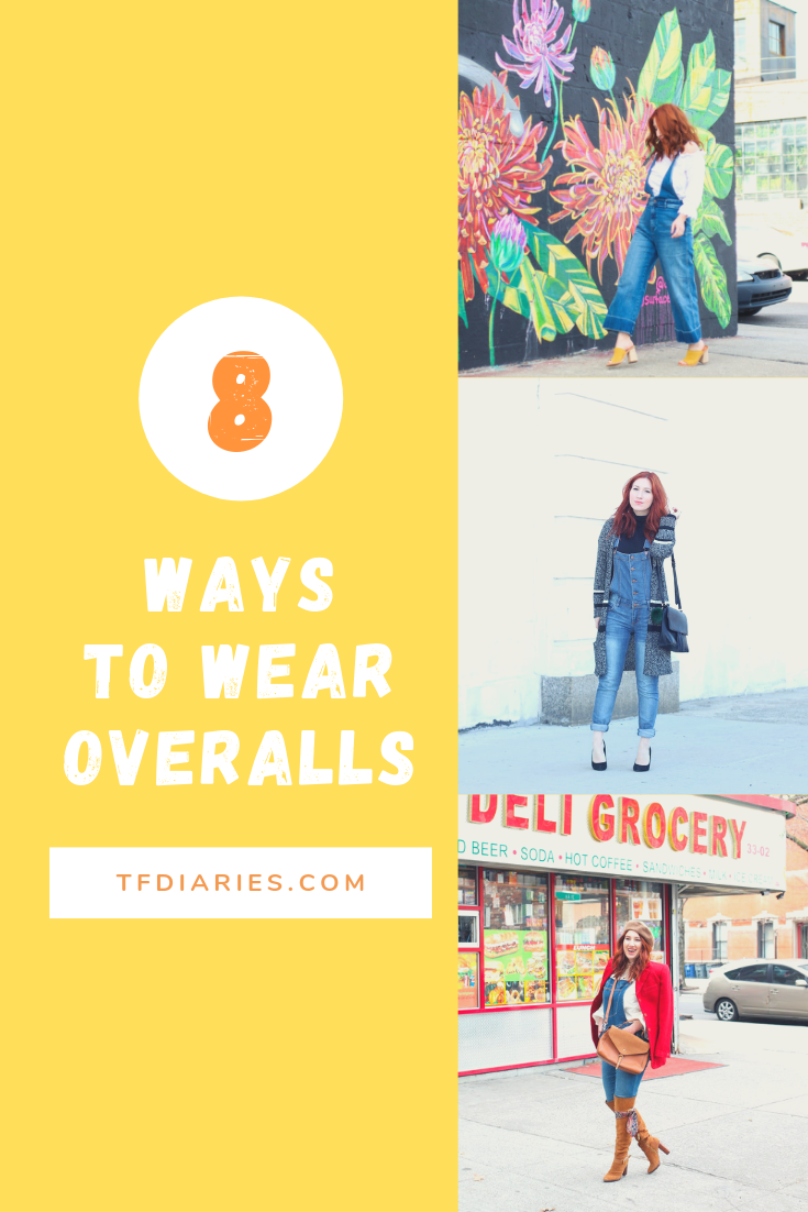 overalls, overalls styles, how to wear overalls, 8 ways to wear overalls, free people overalls, fall fashion, flashback fashion, 90s fashion, fall 2019 trends