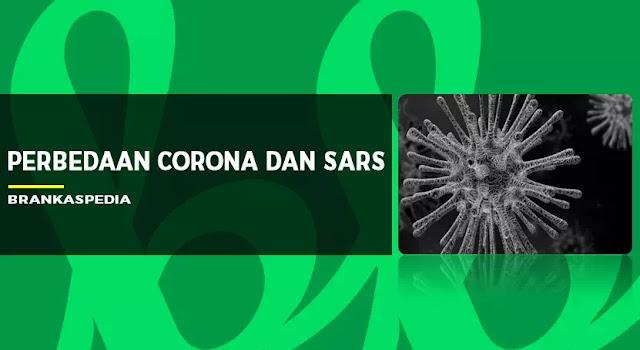 perbedaan corona dan sars